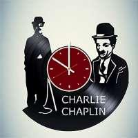 Charles Chaplin Vinyl Wall Clock