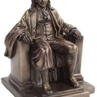 Benjamin Franklin Bronze Figure