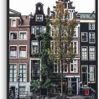 Amsterdam Print Vintage City Poster