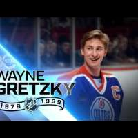 Wayne Gretzky all time leader in goals, points