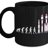 Falcon Rocket Mug - Elon Evolution