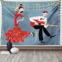 Spanish Flamenco Tapestry