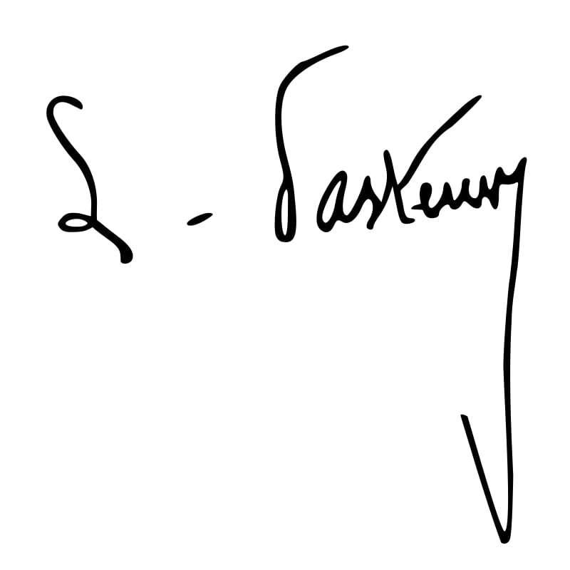 Louis Pasteur Signature