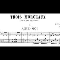 Charles-Valentin Alkan - Op.15, 3 Morceaux dans le Genre pathétique