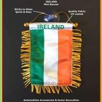Ireland Flag for Car