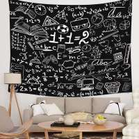 Mathematics Classroom Decor Tapestry