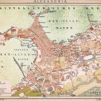 Alexandria Antique Map