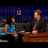 Jada Pinkett Smith's Surprise On-Screen Kiss With Monica Bellucci | Late Night with Conan O'Brien