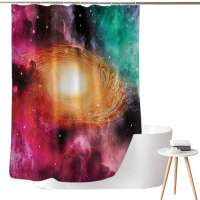 Colorful Astronomy Shower Curtain