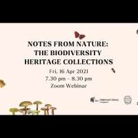 Notes from Nature: The Biodiversity Heritage Collections (Part 2)