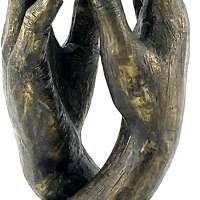 The Cathedral Soulmates Lovers Sculpture