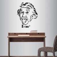 Albert Einstein Art Sticker