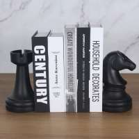 Decorative Chess Bookends