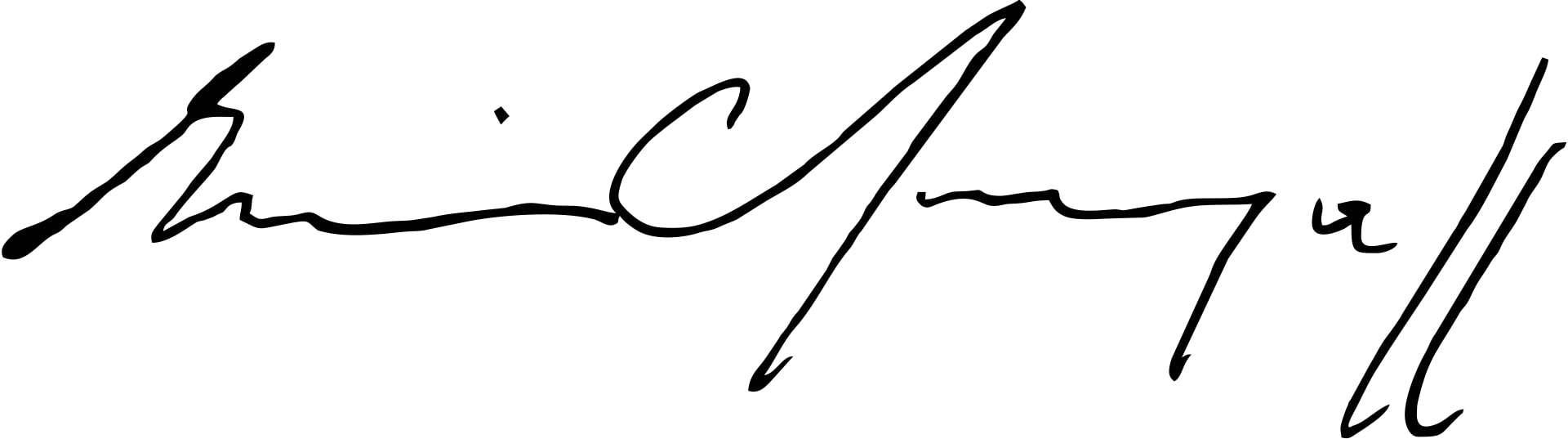 Erwin Chargaff Signature