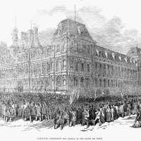 Alphonse De Lamartine Wood Engraving