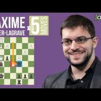 Maxime Vachier-Lagrave's Top 5 Most Brilliant Moves