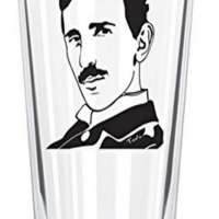 Nikola Telsa Pint Glass