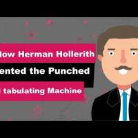 Herman Hollerith Biography   Animated Video