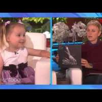Flashback: Brielle's first ever appearance on The Ellen Show