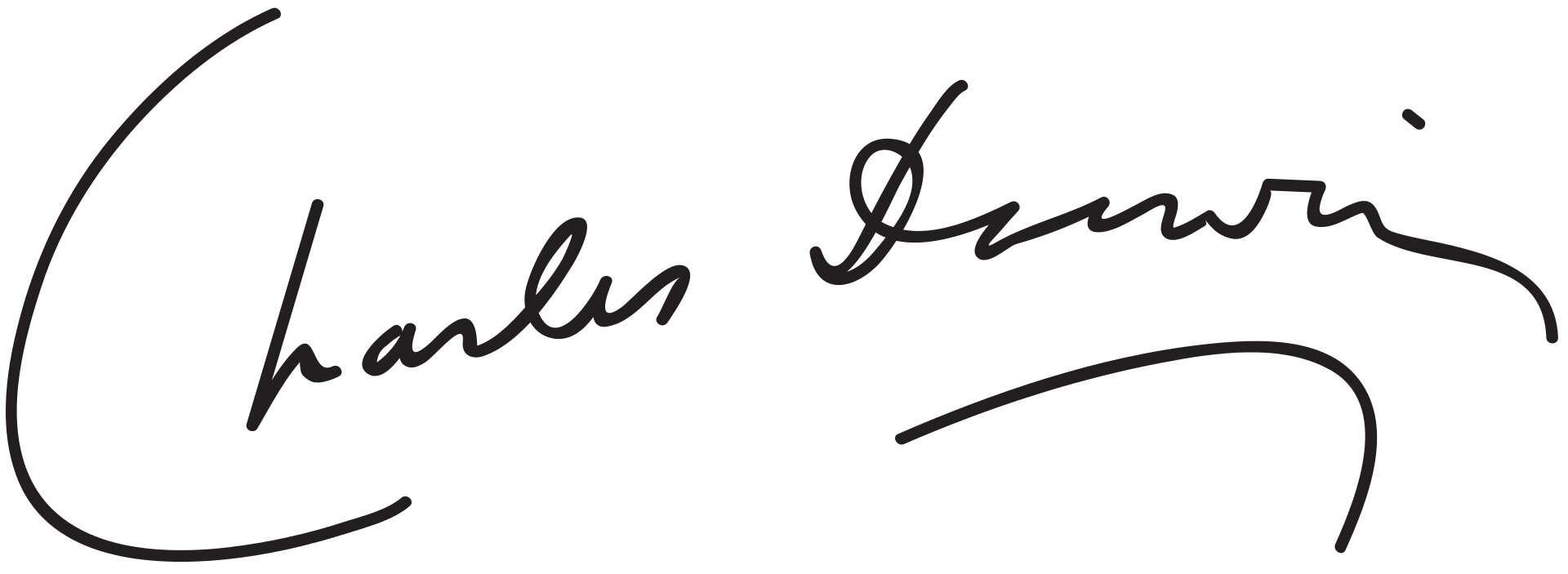 Charles Darwin Signature