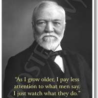 Andrew Carnegie Motivational Poster