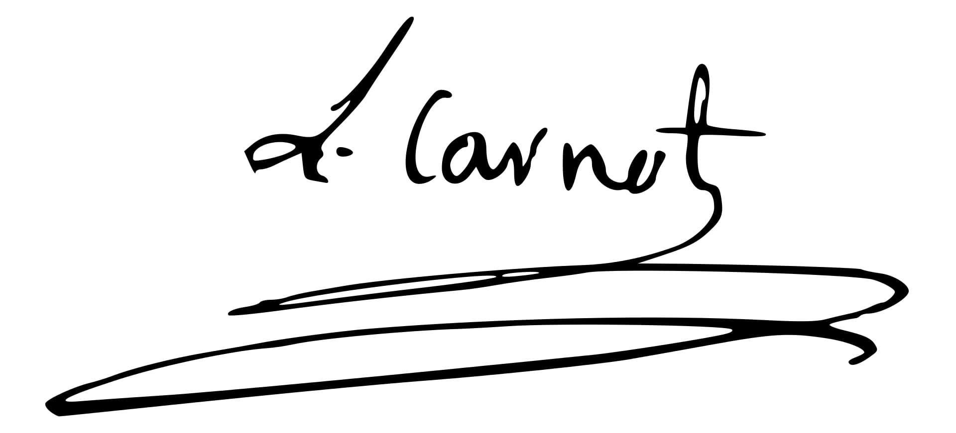 Lazare Carnot Signature