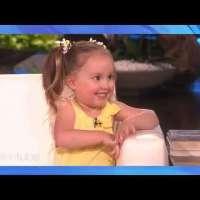 4-Year-Old Brielle Teaches Ellen About Biology