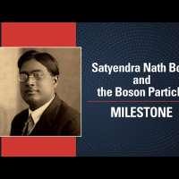 Satyendra Nath Bose and the 'Boson' particle