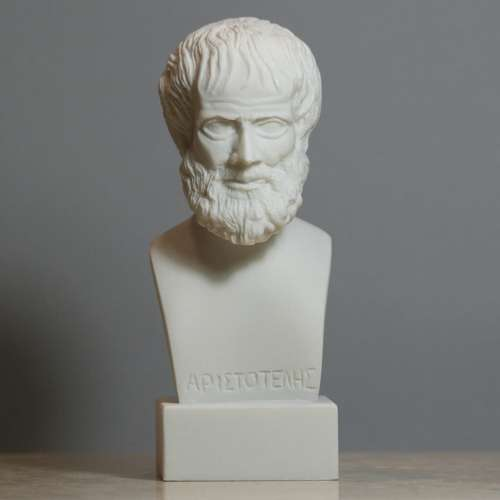 Aristotle Alabaster Bust