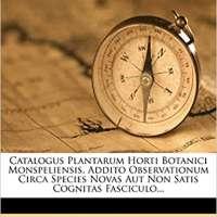 Catalogus Plantarum Horti Botanici Monspeliensis