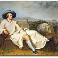 Goethe in The Roman Campagna Mouse Pad