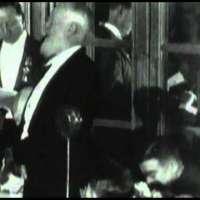 George Bernard Shaw giving a Speech at a dinner in honor of Albert Einstein