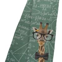 Giraffe Math Fleece Scarf