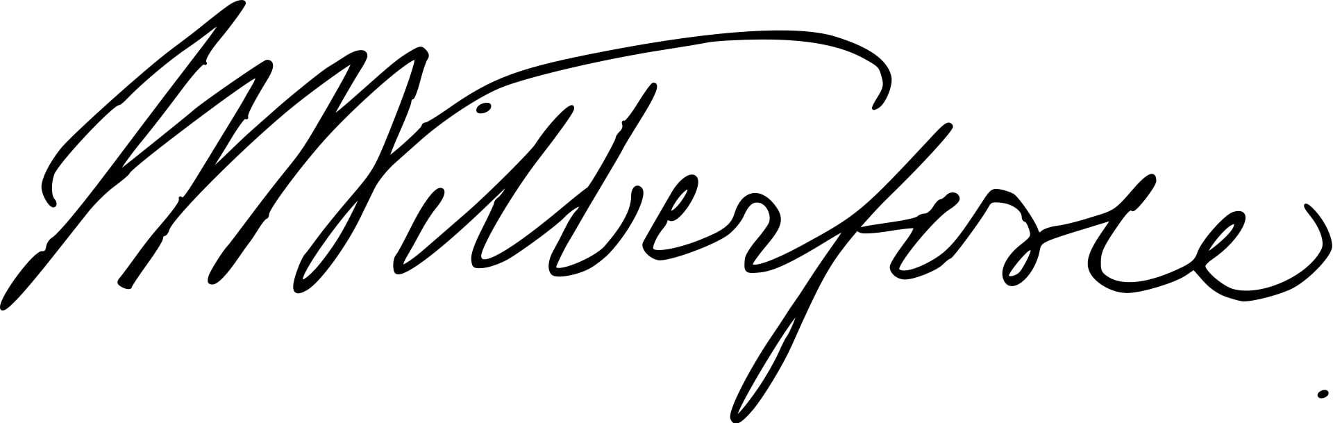 William Wilberforce Signature