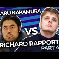 Hikaru Nakamura vs Richard Rapport Blitz Match!