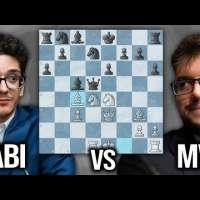 Fabiano Caruana vs Maxime Vachier-Lagrave Candidates 2021
