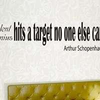 Arthur Schopenhauer Quote Wall Art