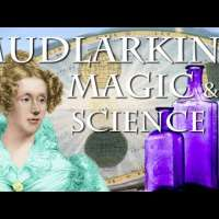 How to turn clear sea glass purple! Mudlarking and Mary Somerville, the first scientist!