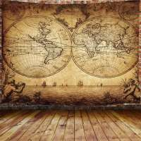 JAWO Old World Map Tapestry