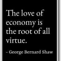 George Bernard Shaw Quote Fridge Magnet