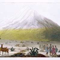 Chimborazo Ecuador Art Poster