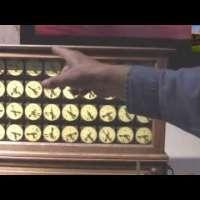 Herman Hollerith Punch Card Machine