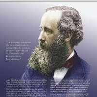 James Clerk Maxwell Vinyl Poster