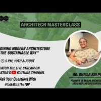 Arch. Sheila Sri Prakash, Founder of Shilpa Architects