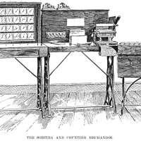 Census Machine 1890 Poster Print