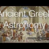 Ancient Greek Astronomy