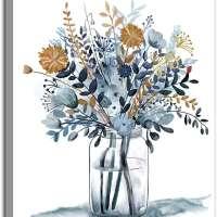 Watercolor Flowers Wall Art
