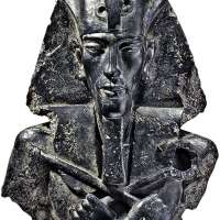 Egyptian Pharaoh Akhenaten Wall Sculpture