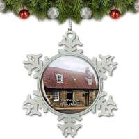 Andrew Carnegie Birthplace Christmas Ornament