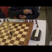 GM Rameshbabu Praggnanandhaa - GM Boris Grachev, Blitz game ending